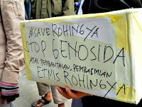 Video Aksi Solidaritas Untuk Rohingya Yang di Lakukan oleh Aliansi Masyarakat Sumut