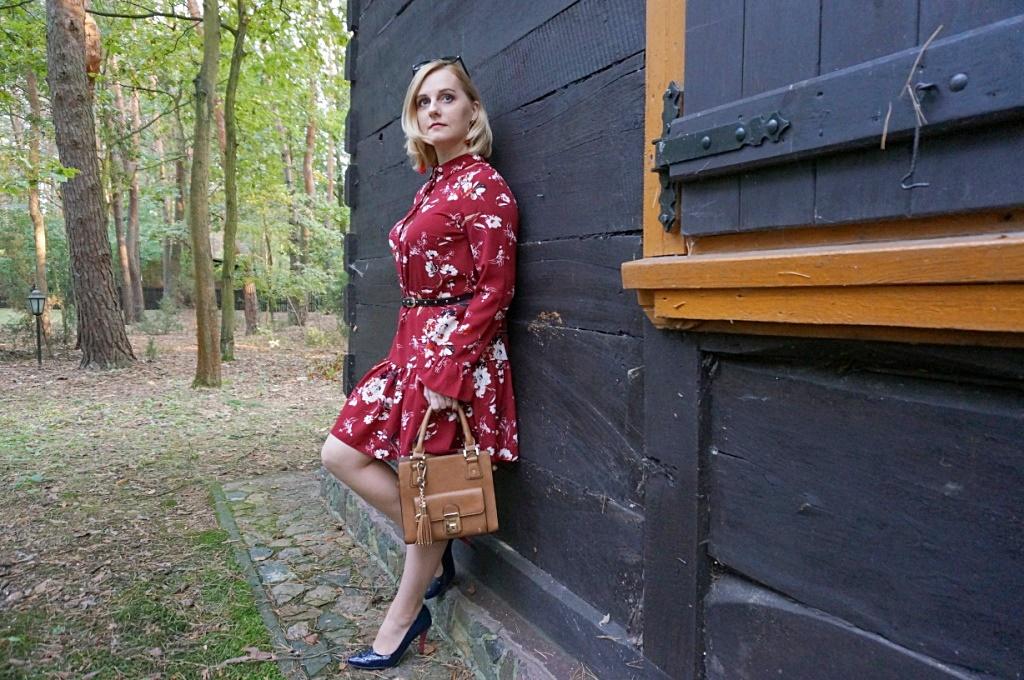 Bonprix sukienka damska moda stylizacja fashion ootd