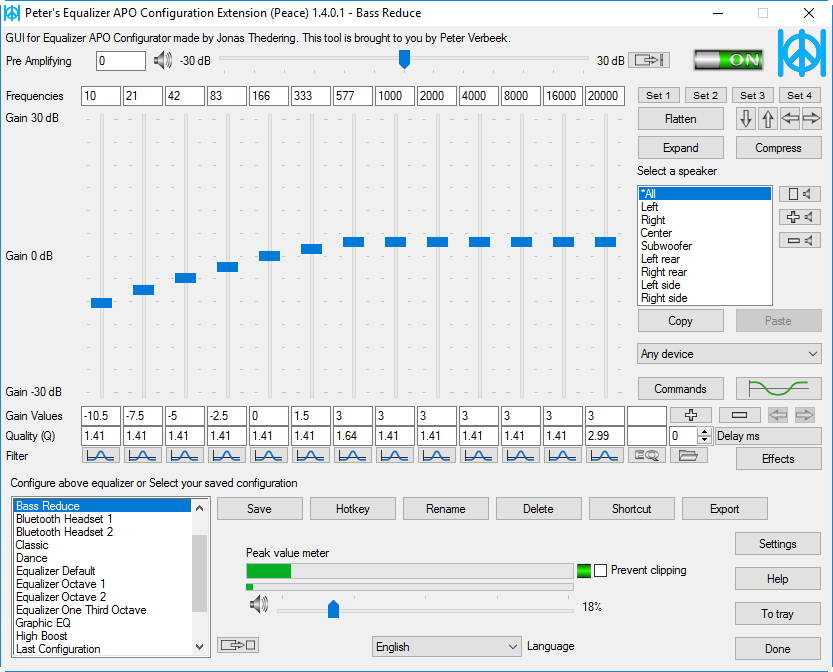 Tahir Hassan's Blog: Reducing Bass on Windows 10 with Equalizer APO