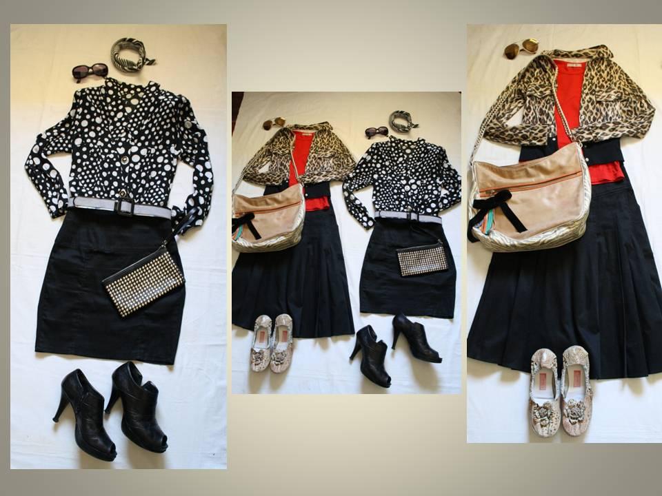 182ee96c4 Tendenciera: Falda negra, otro comodín