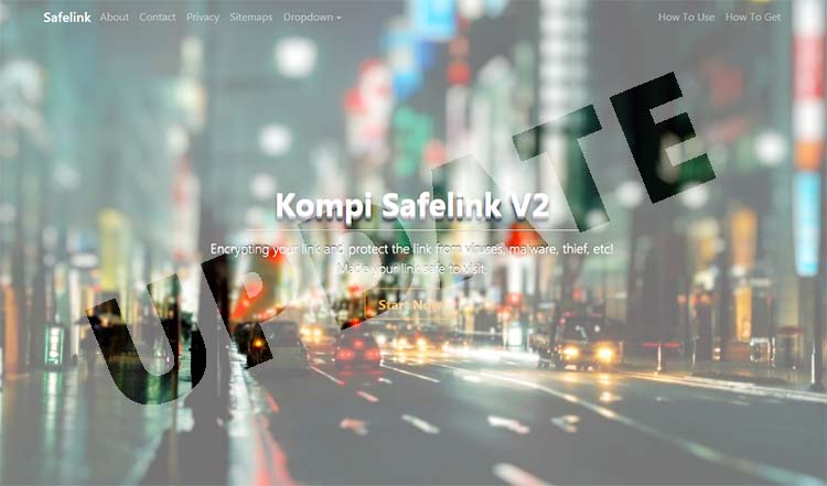 Update! Template Premium Kompi Safelink V2.1.0