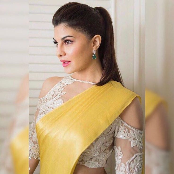 be2bab6fff7b4 This trend will give your eyes a spark to make ethnic wear more stylish and  classy.Try with simple long earnings or elegant hairdo do the magic.