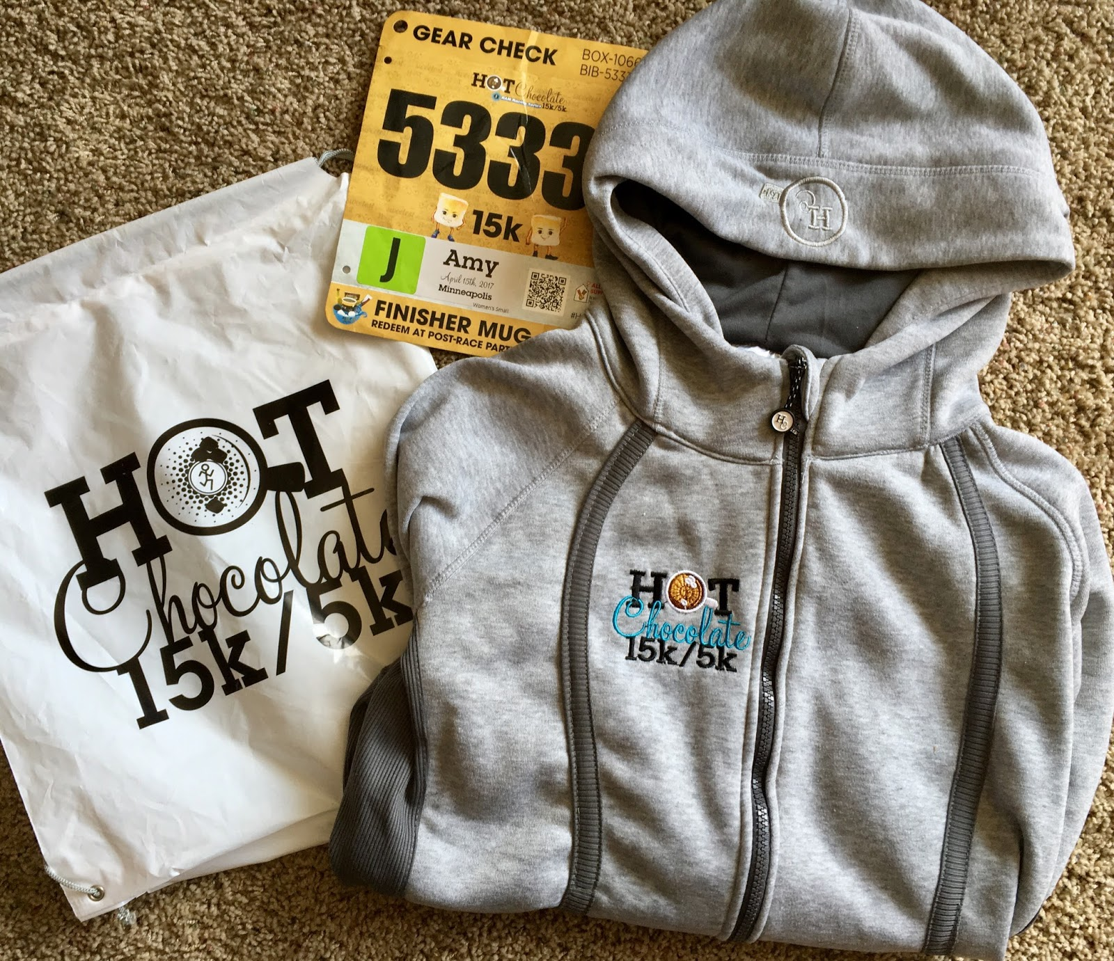 Life to the Full: Hot Chocolate 15k Taper & Race Goals