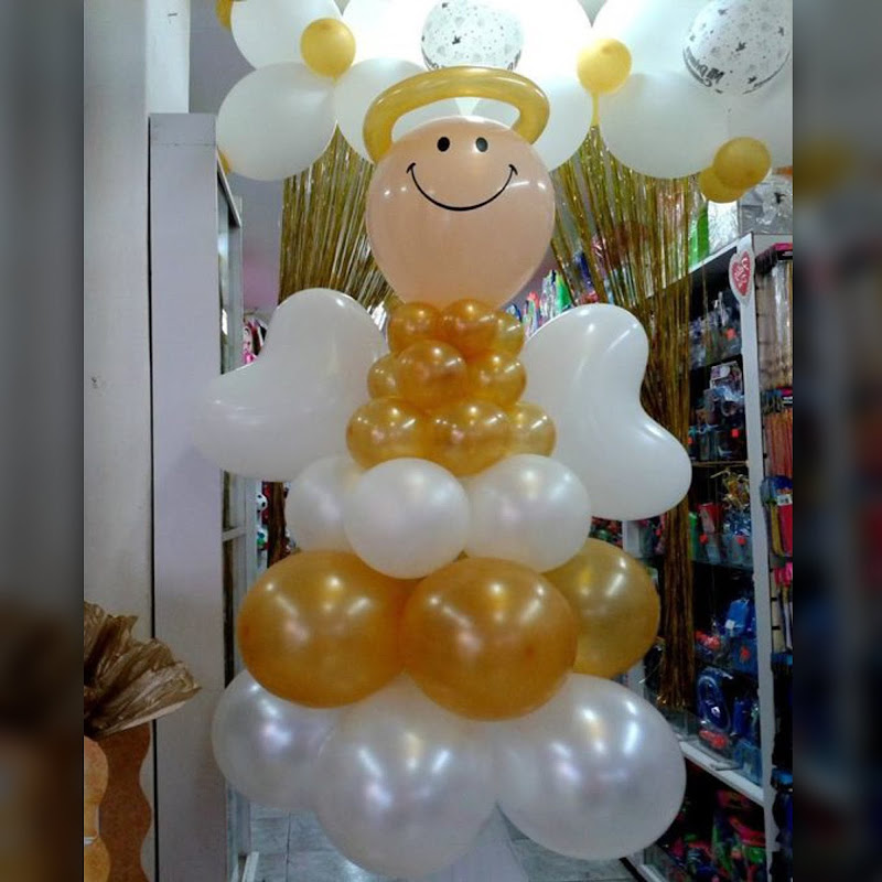 Adornos con globos para Primera Comunión (3)
