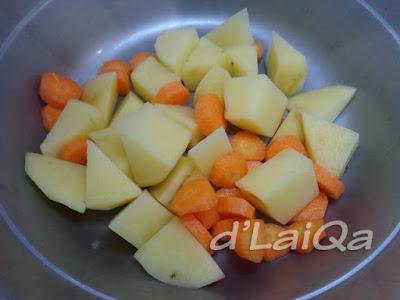 kentang dan wortel