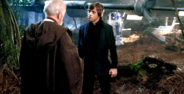 Obi Wan Kenobi si Luke Skywalker - The Empire Strikes Back