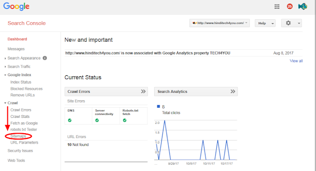how to add website on google webmaster tool for seo