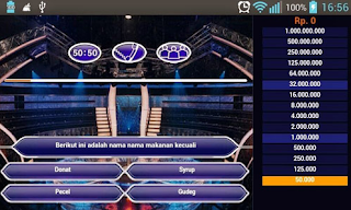 Download Game Who wants to be millionare terbaru