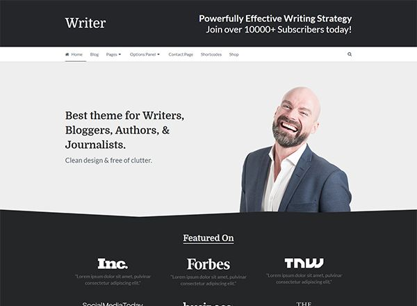 25 Most Preferred Portfolio WordPress Themes For Freelancers