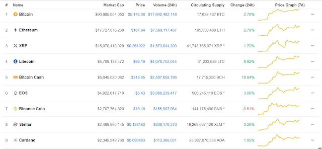 Coin market Capitalization