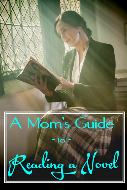 This 15-step guide might not help busy moms like us to read more, but it certainly will make us look like we do.  {posted @ Unremarkable Files}