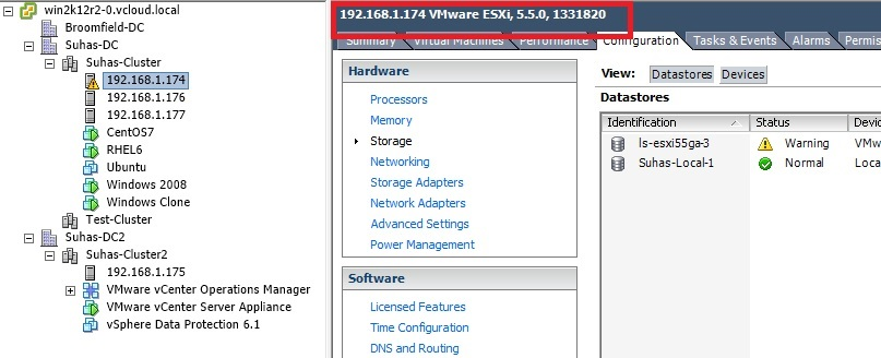 Upgrading ESXi Host Via Update Manager ~ virtuallyPeculiar