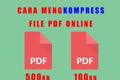 Cara Mengkompres File PDF Secara Online dan Offline