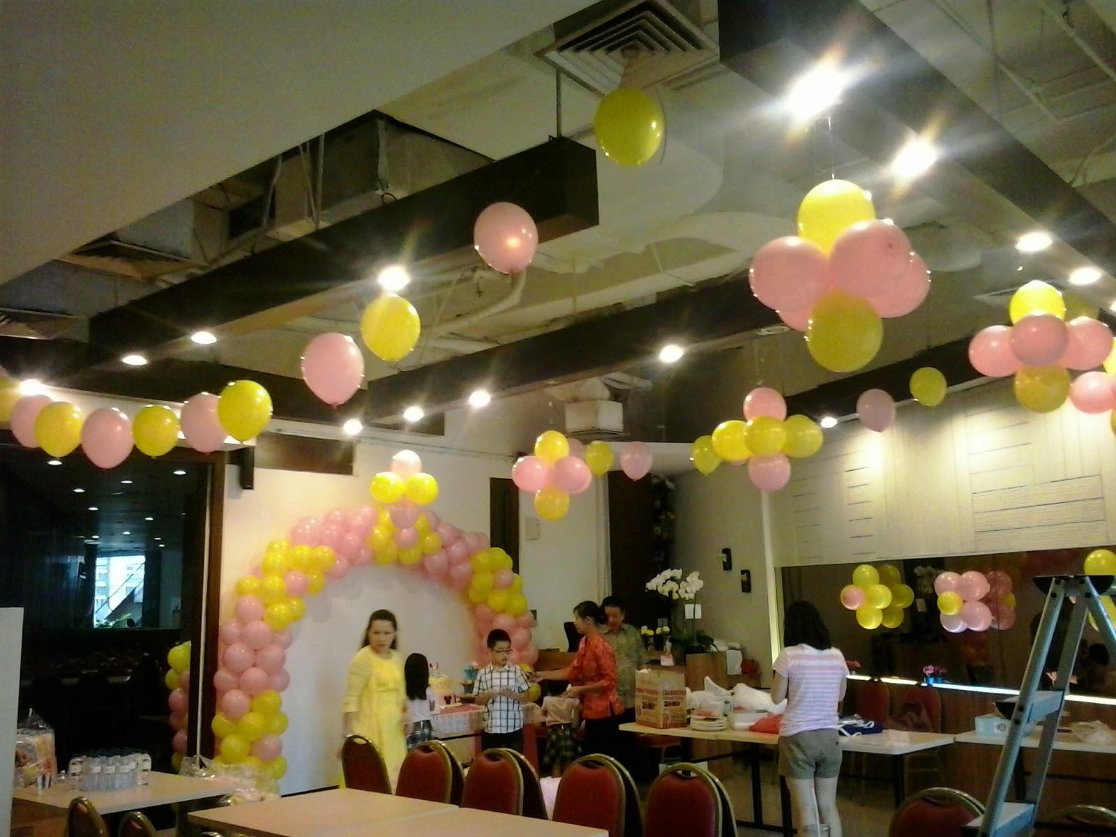 Balon dekorasi lampion