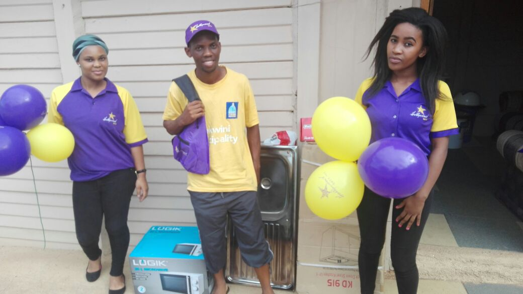 Ekhayalethu Care Centre donation from Hollywoodbets Pinetown