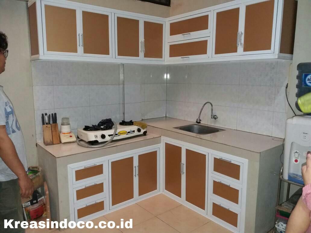 Daftar berbagai macam harga kitchen set aluminium for Daftar harga kitchen set aluminium