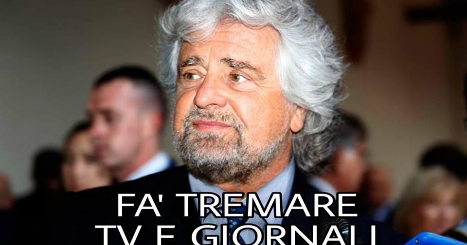 + + + NOTIZIA BOMBA + + + LA PROPOSTA CLAMOROSA DI GRILLO CHE FA TREMARE TV E GIORNALI!!