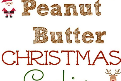 Peanut Butter Christmas Cookies