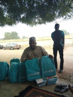 UNICEF Bags Meant For IDPs Sold In Kano(See Pics)