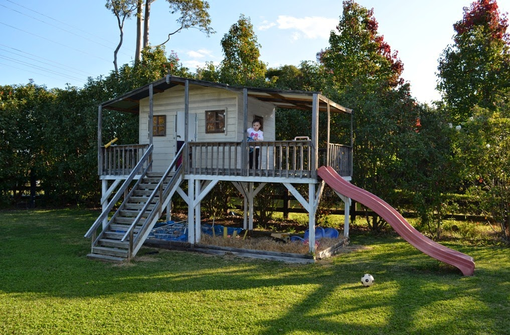 Backyard Landscaping Cubby House Plans Better Homes And Gardens
