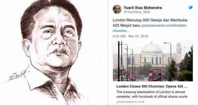 An Open Reprimand To Yusril Ihza Mahendra
