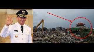 Mantap Selain Rumah Warga Mesjid pun jadi sasaran Gusuran di luar batang - naon wae news