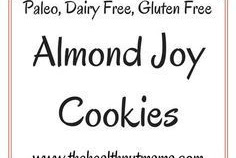 Paleo Almond Joy Cookies