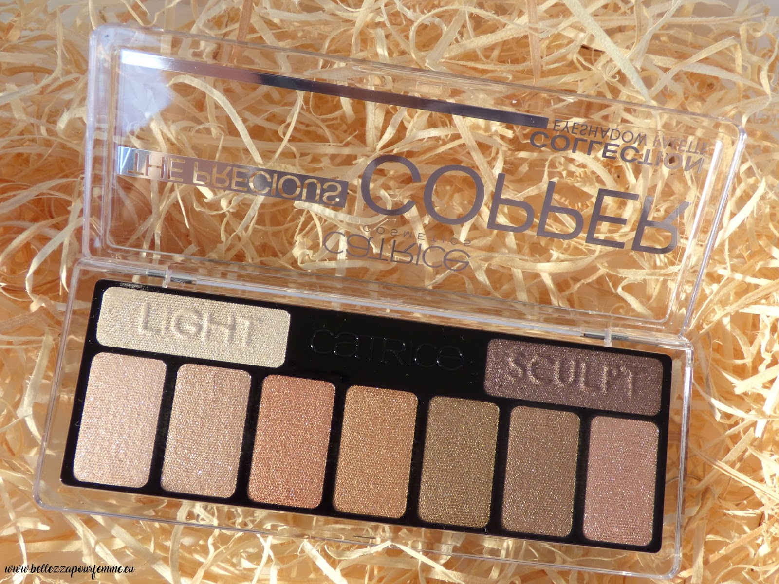 recensione CATRICE The Precious COPPER Eyeshadow Palette
