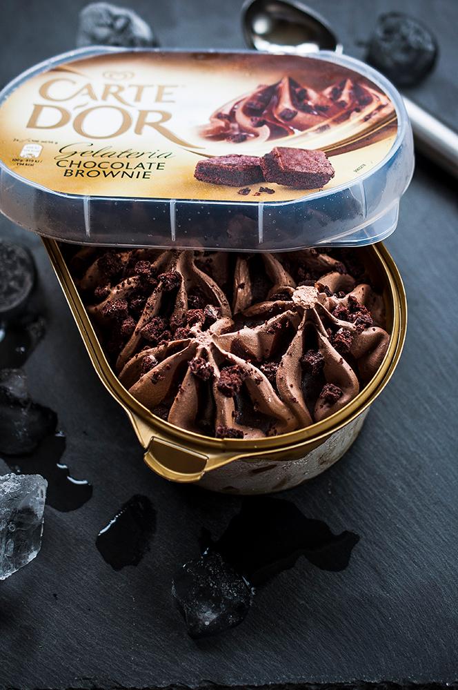 Lody czekoladowe zdjęcia