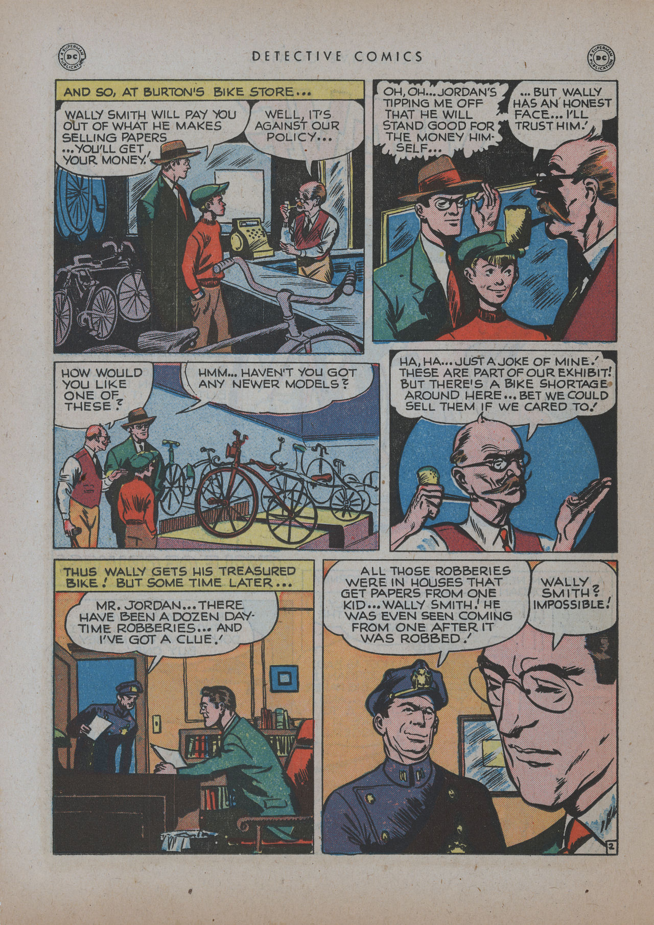 Read online Detective Comics (1937) comic -  Issue #137 - 18