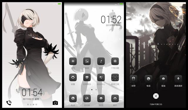 Gambar Anime Theme For Xiaomi