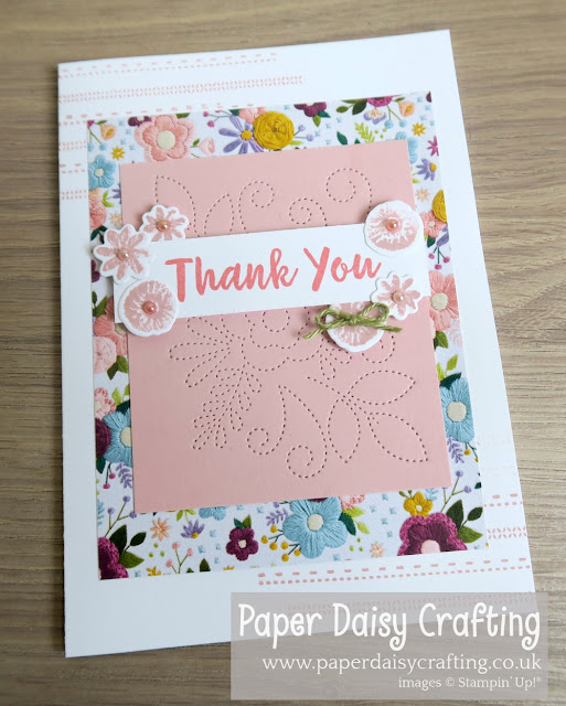 Needle and thread Stampin Up