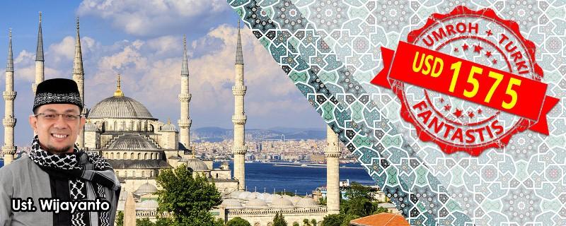 Paket Umroh Plus Turki 2018 Arfa Tour