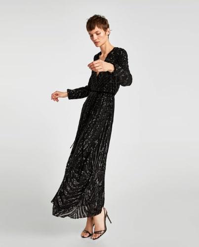 4f41f2094 Para brillar en navidad vestidos de lentejuelas de Zara