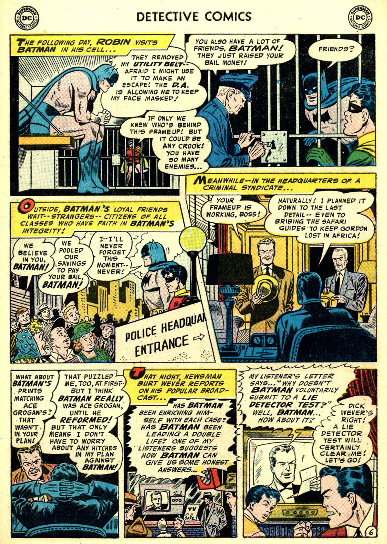 Read online Detective Comics (1937) comic -  Issue #240 - 8