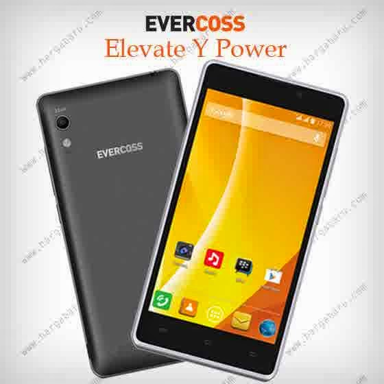 Review dan Spesifikasi Evercoss Elevate Y Power