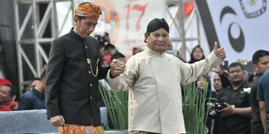 Jokowi Soal Imbauan Prabowo Putihkan TPS: Wah Rukun, Bagus, Kita Harapkan Semua Rukun