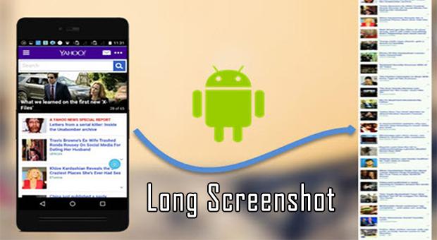 Cara Membuat Screenshot Panjang di Semua Ponsel Android