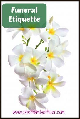 Funeral Etiquette - ChiefFamilyOfficer.com