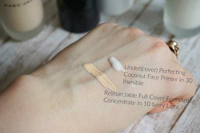 Review Marc Jacobs - Re(marc)able Foundation + Under(cover) Primer
