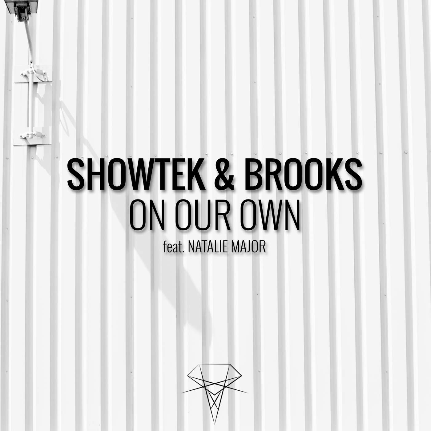Showtek & Brooks - On Our Own (feat. Natalie Major) - Single Cover