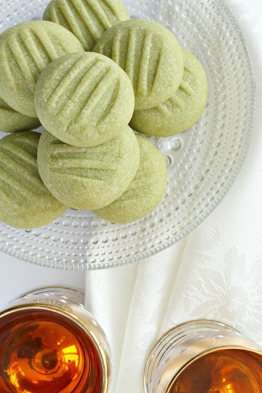 Matcha green tea cookie recipe