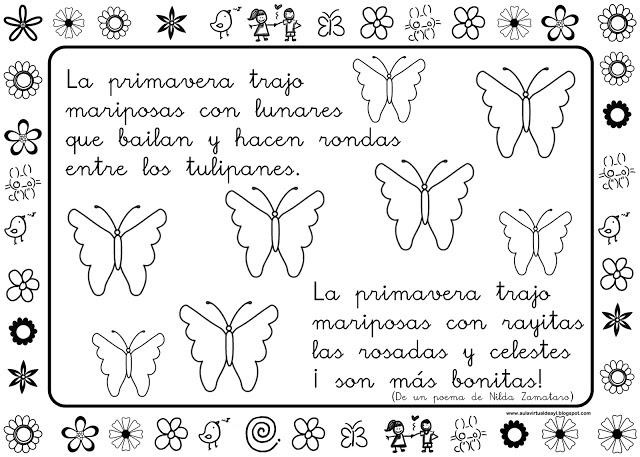 Trabajando en Educación Infantil: 10 poesías de la primavera para ...