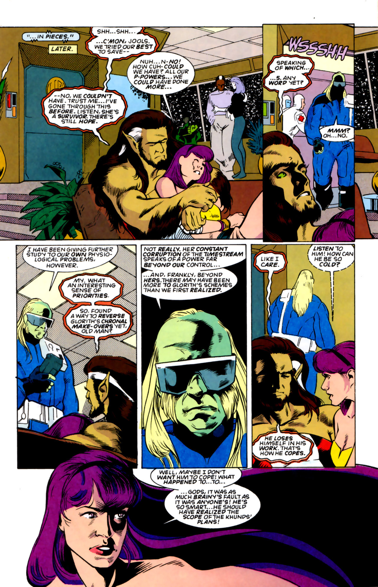 Legion of Super-Heroes (1989) 59 Page 3