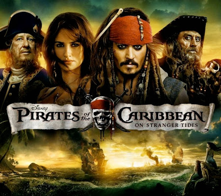 Poster Of Pirates of the Caribbean On Stranger Tides (2011) Full Movie Hindi Dubbed Free Download Watch Online At movies365.in