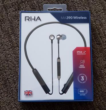 RHA MA390 Wireless earbuds