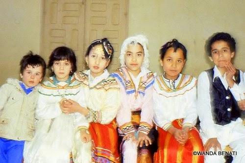Algeria, piccoli dnzatori