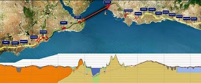 Hasil carian imej untuk Terowong ini yang akan menghubungkan benua Eropah dan Asia.