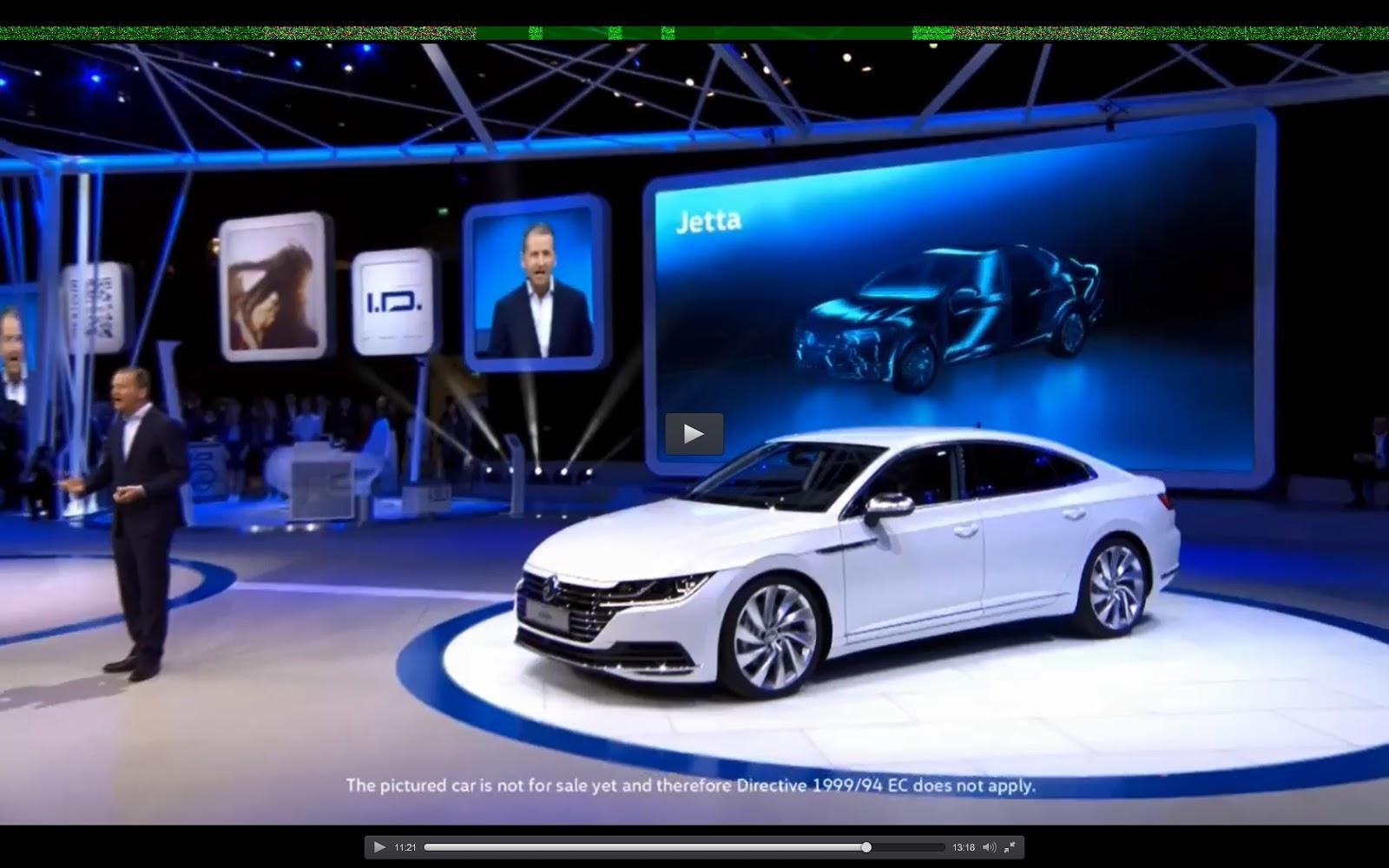 2017 Vw Jetta >> 2018 Volkswagen Jetta revealed!!! (silhouette anyway at Geneva)
