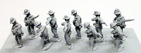 PR7 Infantry in Slouch Hat – Firing Line infantry in slouch hat firing and loading - 3 poses.